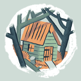 An illustration of a cabin