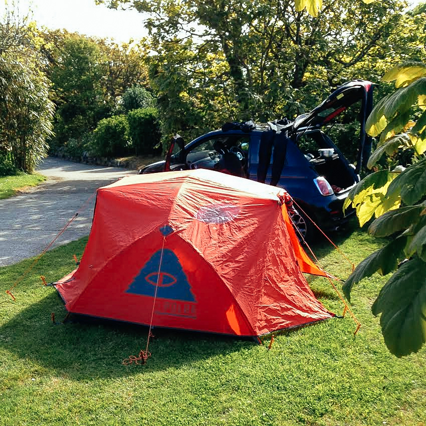 robin-poler-tent & The Night Riviera to Cornwall | The Brokedown Blog